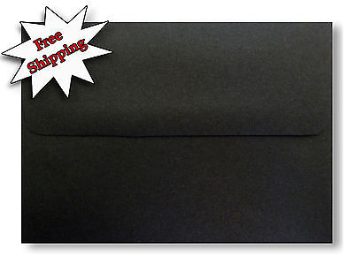 Jet Black 70lb Envelopes for Greeting Cards Invitation Response Shower - Halloween Cards Invitation