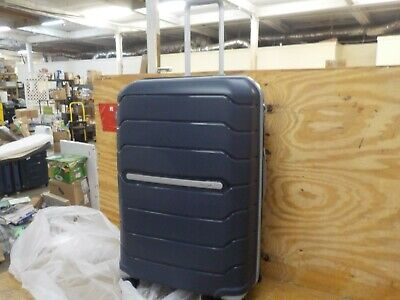 Samsonite Freeform Hardside Expandable with Double Spinner Wheels, Navy 28-INCH