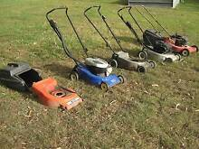 wrecking old mowers- engines and base's for sale Gumdale Brisbane South East Preview