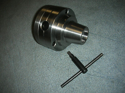 New Grizzly 1011 Inch Lathe 5c Collet Chuck With 1 34-8 Backing Plate New