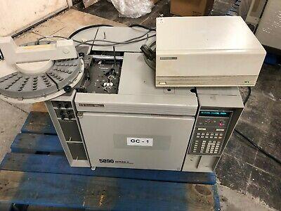 Hp 5890a Gas Chromatograph Agilent Gc Hewlett Packard 5890 Wautosampler