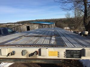 48' flat bed trailer