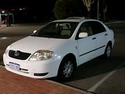 2002 Toyota corolla Perth Perth City Area Preview
