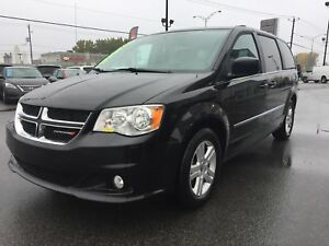 2017 Dodge Grand Caravan CREW PLUS*CUIR*CAMÉRA*BLUETOOTH*PORTES