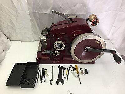 GRITZNER Doppelmaschine Schuster Nähmaschine mit riesen Werkzeug + Zubehör TOP