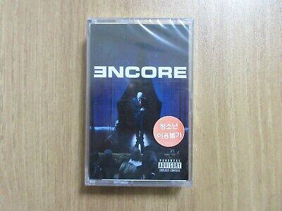 EMINEM - ENCORE Korea Edition Sealed Cassette Tape BRAND NEW RARE