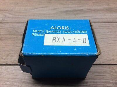 New Aloris Bxa 4d Quick Change Boring Bar Holder 1 Cap
