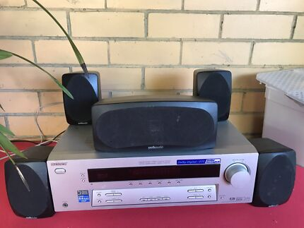 Sony 5.1 channel 5 speaker polkaudio very good condition