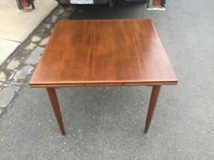 mid century extension table,Parker table,teak table WE CAN DELIVER