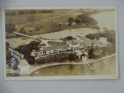 1925 Real Photo Postcard Templar Park Spirit Lake IA Orifano? Louie Ick Boone US
