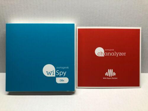 Metageek Wi-Spy DBX 2.4GHz 5GHz Spectrum w/ Chanalyzer Software Serial Key