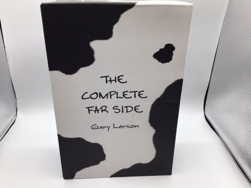 The Complete Far Side Three Volume Hardcover Boxed Set - Gary Larsen - 1980-1994