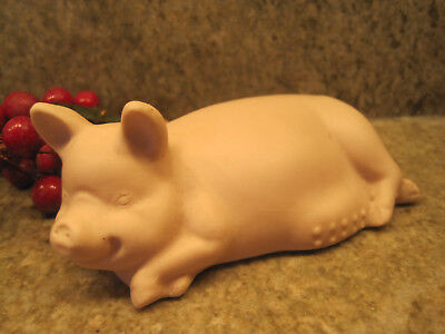 """Ready To Paint Ceramic Bisque Pig 5"""" x 2"""""""