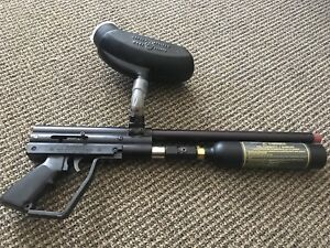 Paintball gun and mask and Belt for $100