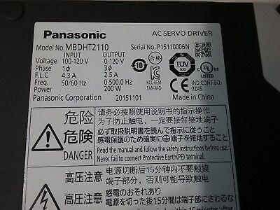 Panasonic Ac Servo Driver Madht1505nl1