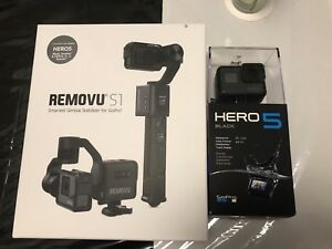 Removu S1 + Gopro Hero5 Black + Extra Batteries