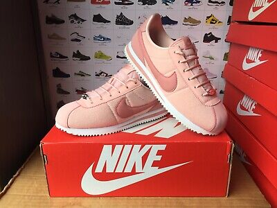 "Women's Nike""CORTEZ""Trainers Size UK 5.5-EU 38.5 Pink-White USED TWICE"