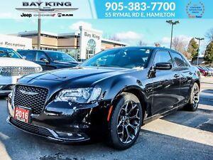 2016 Chrysler 300 S, GPS, BLUETOOTH, SUNROOF, BACK UP CAM