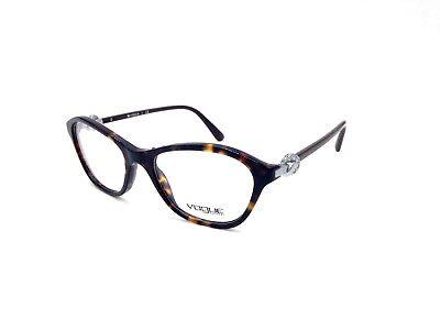 $225 VOGUE WOMENS BROWN EYEGLASSES FRAMES GLASSES OPTICAL EYE LENSES VO 2910-B