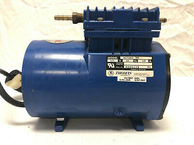 Thomas Industries 607ca22-768 Wob-l Piston Vacuum Compressor Pump -tested Works