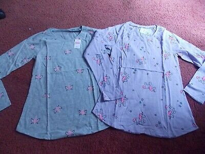 justice - girls size 6/7 --pair of 2 long sleeve tops  gray/