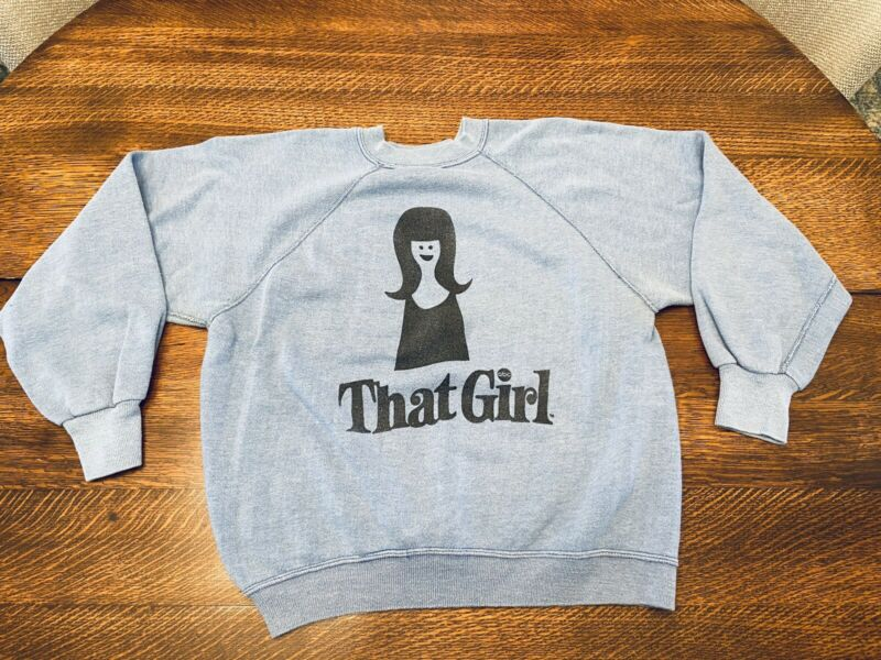 1960's THAT GIRL TV SHOW SWEATSHIRT by PENNEYs TOWNCRAFT!