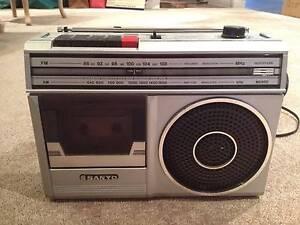 SANYO M2800 AM/FM 2 Band Radio Cassette Recorder Highett Bayside Area Preview