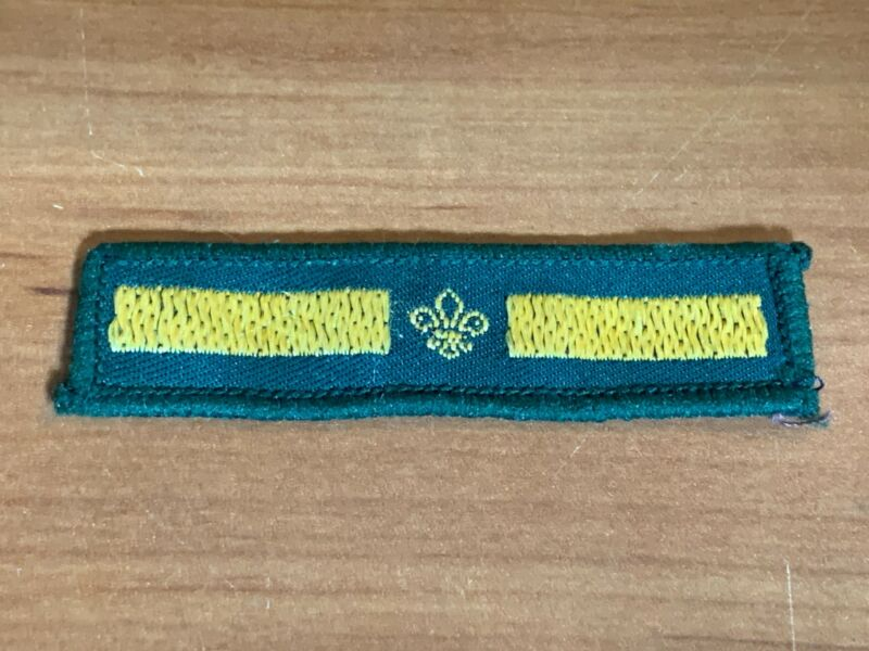 1970's/1980's Assistant Patrol Leader Stripe, Badge or Patch, UK Scout Assn