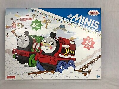 THOMAS & FRIENDS Minis Trains 2015 ADVENT Calendar ~ Made in Thailand ~ NEW