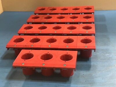 Lot Of 23 Used Lista Sund 2 X4042-1 Tool Holders Pods X 4042-1 Vidmar W5
