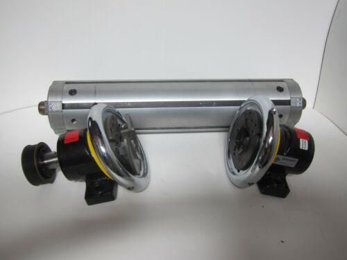 """Tidland Expandable Winding Roller w/  Boschert Safety Chucks (7"""" D, 24"""" L)"""