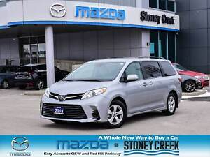 2018 Toyota Sienna LE 8 Passenger PWR Doors Bachup Cam