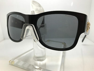 Authentic VERSACE SUNGLASSES VE4275 GB1/81 BLACK/GREY POLARIZED LENS