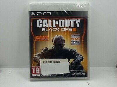 CALL OF DUTY BLACK OPS 3 - PS3 - NUEVO - PAL...