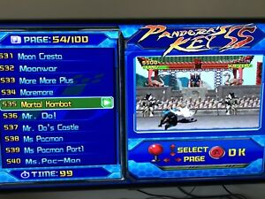 Arcade all-in-one console - 999 games - Pandora