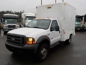 2005 Ford F-450 SD Regular Cab 2WD Cube Van with Workshop Diesel