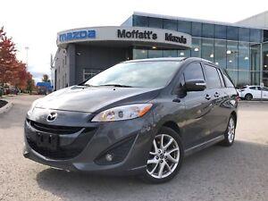 2016 Mazda Mazda5 GT LEATHER, SUNROOF, HEATED SEATS, BLUETOOTH