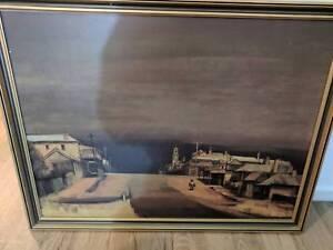 "Kenneth Jack ""Beechworth"" Oil on Canvas print Langwarrin Frankston Area Preview"