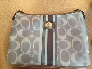Coach Purse / Tote and matching wristlet