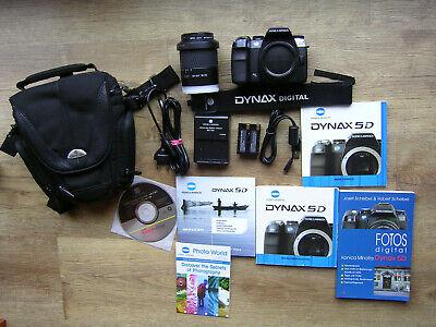 Konica Minolta Dynax 5D 6.1MP digitale Spiegelreflexkamera  mit 18-70mm Objektiv