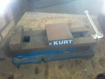 Kurt Anglock 6 Milling Machine Vise W Jaws Handle - D688