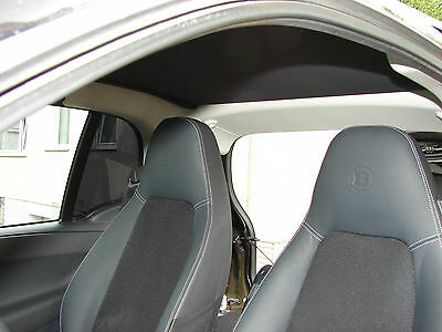 Leather Trim Smart Fortwo 451 Brabus Xclusive Complete Black NEW