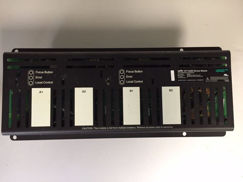 Lightolier Controls / Strand Lighting -Optio / A21 SCR Dimmer Module - OPT-42000