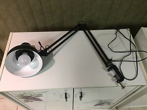 Black Drafting Table Lamp
