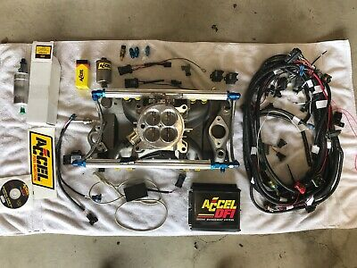 Chevy Fuel Injection System - Accel DFI Gen 7 Fuel Injection System SBC Chevrolet