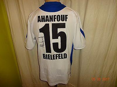 Arminia Bielefeld saller Trikot 2006/07 + Nr.15 Ahanfouf + Signiert Gr.S- M TOP image