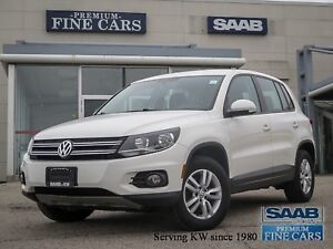 2013 Volkswagen Tiguan TSI   6  Spd Manual/Front Drive/Heated Se