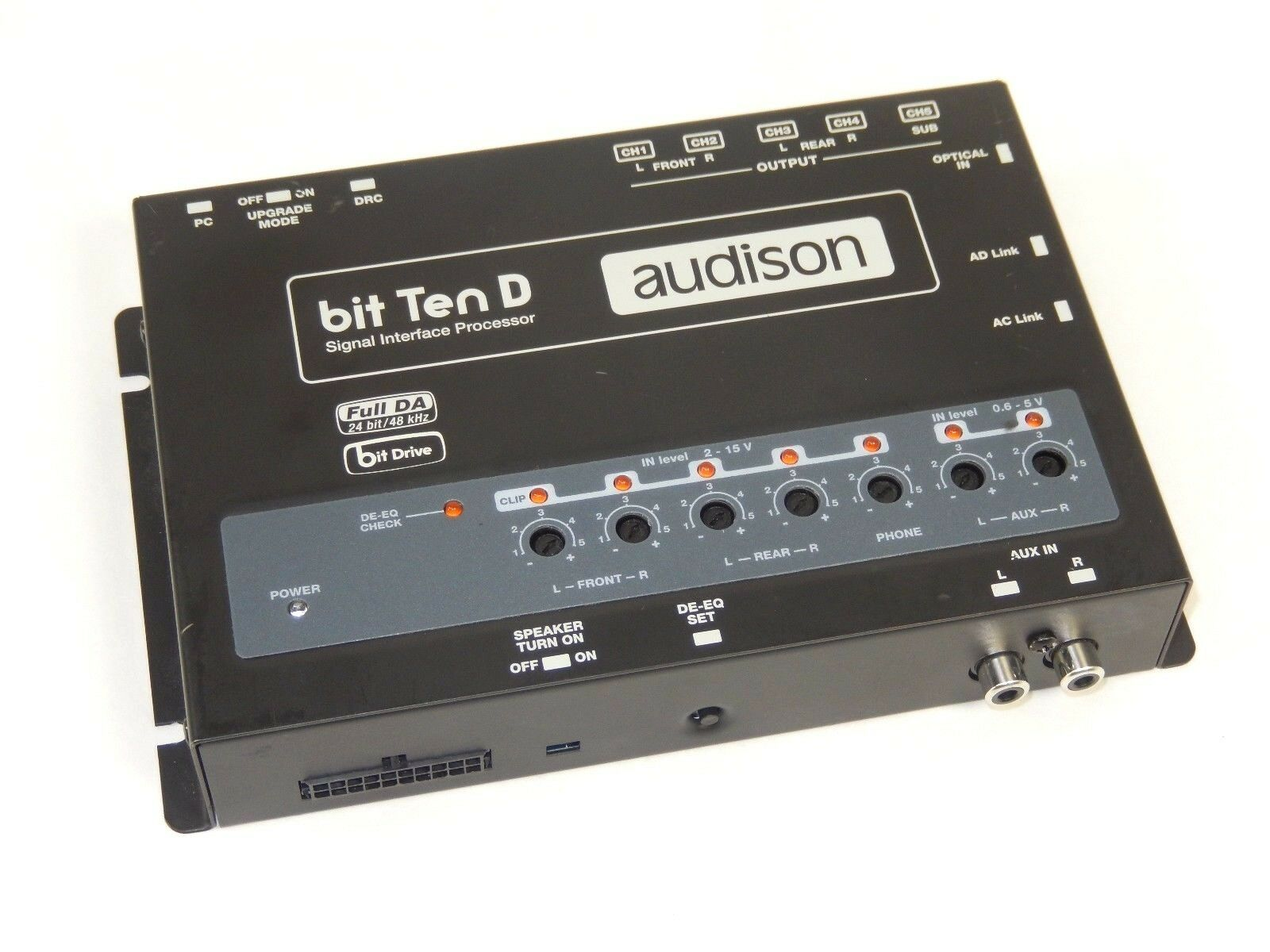 minty audison bit ten d signal interface processor dsp. Black Bedroom Furniture Sets. Home Design Ideas
