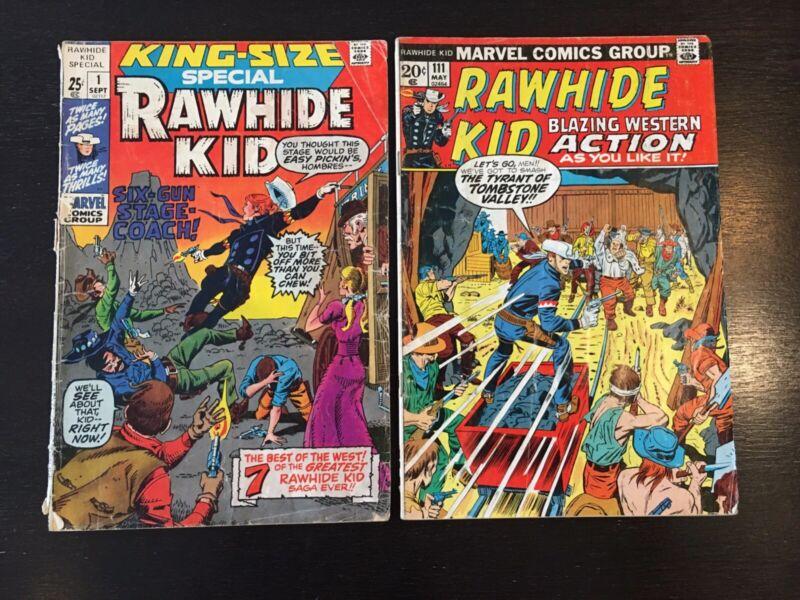 Rawhide Kid King-Size Special #1 Rawhide Kid #111 (2) Comics