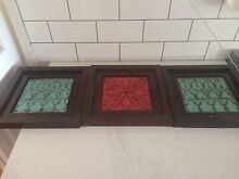 3x tin wall art Beresfield Newcastle Area Preview